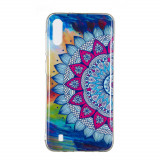 Cumpara ieftin Carcasa Husa Samsung Galaxy A10 Model Mandala, Fosforescent, Antisoc + Folie sticla securizata Samsung Galaxy A10 Tempered Glass Viceversa