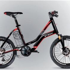 Bicicleta electrica cu cadru aluminiu ZT-72 CITYLINK SPORT NEGRU