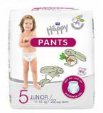 Scutece-chilotel Happy Pants Junior, Nr.5, 11-18 kg, 22 buc