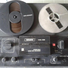 Magnetofon ,de colectie, MAJAK MODEL 205 + PIESE DE SCHIMB ȘI ACCESORII, Kashtan