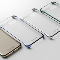 Husa originala Clear Cover Samsung Galaxy S6 Edge + Plus G928 + stylus