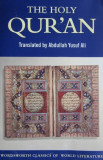 The Holy Quran (translated by Abdullah Yusuf Ali)