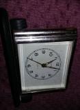 Ceas vechi mecanic de masa SLAVA,URSS,Ceas rusesc de masa vechi,T.GRATUIT