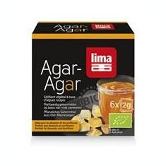 Agar Agar Pudra Bio Lima 6x2gr Cod: 5411788045759