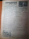 sportul popular 25 octombrie 1954-divizia a la fotbal,rezultate,rugby,baschet