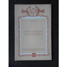 HANS CHRISTIAN ANDERSEN - ION PAS