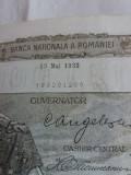 Bancnote romanesti 100lei 1932 mai xf
