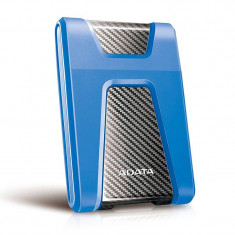 Hard disk extern ADATA Durable HD650 2TB 2.5 inch USB 3.1 Blue