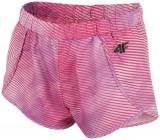 Pantaloni scurți de sport pentru fete (122-164) JSKDD201 - multicolor, 4F Sportswear