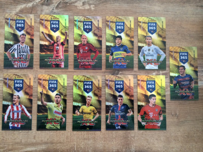 Panini FIFA 365 2016 Adrenalyn XL Set 11 Limited Edition XXL Bonus foto