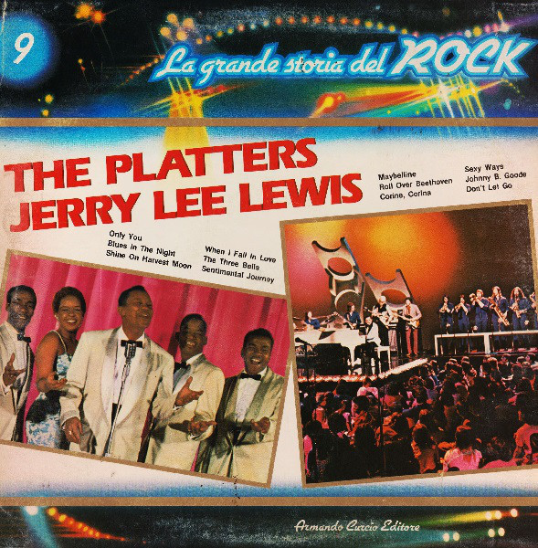 Vinil The Platters / Jerry Lee Lewis – The Platters / Jerry Lee Lewis - (VG+) -