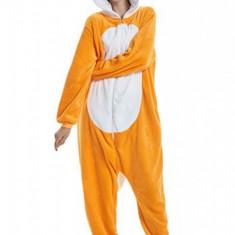 PJM141-9 Pijama pufoasa intreaga cu model FOX