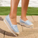 Espadrile dama albastre Fonisia