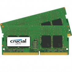 Memorie laptop Crucial 16GB DDR4 2400 MHz CL17 Dual Channel Kit