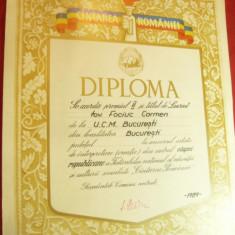 Diploma Cantarea Romaniei 1989 loc 2 Creatie Etapa Republicana