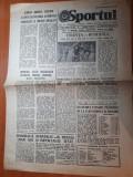 Sportul 31 octombrie 1981-gabor,lovas,rednic trio-ul de aur al medaliei de bronz