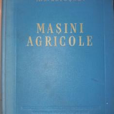 MASINI AGRICOLE  M N LETOSNEV TEORIE CALCUL PROIECTARE