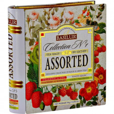 Ceai negru Basilur Colection no.1 Assorted, 64 gr
