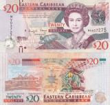 Insulele Caraibe Eastern Caribbean 20 Dollars 2016 Montserrat UNC