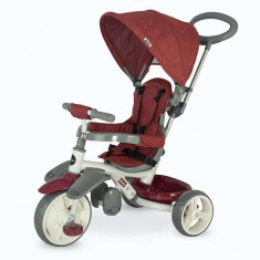 Tricicleta pentru copii COCCOLLE Evo visiniu