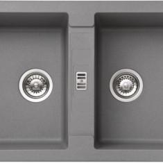 Chiuveta fragranite Franke Maris MRG 620 reversibila 860x500 tehnologie Sanitized Alluminio