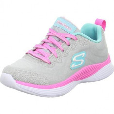 Tenisi Copii Skechers Sneaker Sparkle Brights 83014LGYMN