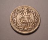 25 bani 1953 Rara
