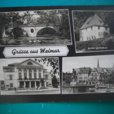 HOPCT 54279 WEIMAR IN ANUL 1965   - GERMANIA -STAMPILOGRAFIE-CIRCULATA
