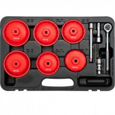 Set chei tubulare pentru filtru ulei, 15buc. Yato YT-0595
