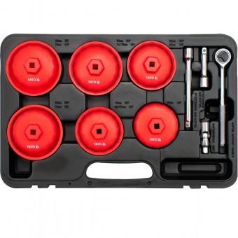 Set chei tubulare pentru filtru ulei, 15buc. Yato YT-0595 foto