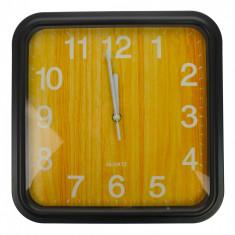 Ceas de perete, maro deschis, 31 x 31 cm, patrat - CEAS05