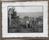 C67 Cruci de lemn in cimitir sat Transilvania anii 1930