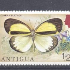 Antigua 1975 Butterflies, MNH AE.149