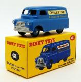 Macheta Bedford 10cwt Van Ovaltine  - Dinky Toys