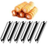 Cumpara ieftin Set 6 forme cilindrice + set 6 forme conice prajituri