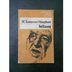 W. SOMERSET MAUGHAM - BILANT
