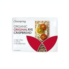 Paine Crocanta de Secara Original Eco Clearspring 200gr Cod: 5021554003052