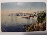 CARTE POSTALA WWI - EXPEDIATA IN ROMANIA DIN  DUBROVNIK - ANUL 1918, Circulata, Fotografie