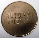 1.567 ROMANIA JETON MCI AUTOMAT MUZICAL TONOMAT 25mm