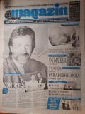 ziarul magazin 21 noiembrie 1996 - articol despre chuck norris
