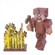 Set figurina Minecraft cu accesorii,