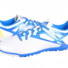 Ghete fotbal Adidas Messi 15.3 TF white-blu-black B25456