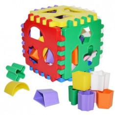 Cub sortator pentru copii, 24 piese, multicolor