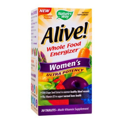 Alive woman's ultra, 30cps, Nature's Way foto