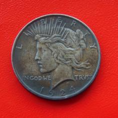 Moneda argint 1 Dolar 1924 (cn57)