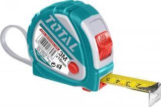 Ruleta 3m X 16mm cu buton 3 functiiPB Cod:MXTMT126031