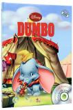 carte vintage povesti copii 2013,DUMBO,DISNEY,Ed.LITERA MICA,Format MARE,T.GRAT