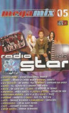 Caseta Megamix 05 Radio Star, originala: Simplu, TNT, Andra, 3rei Sud Est, Casete audio