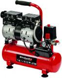 Compresor fara ulei Einhell TE-AC 6 Silent, 550 W, 8 bar presiune lucru, 6 l capacitate rezervor, 50 l/min debit aer refulat, 110 l/min debit aer aspi