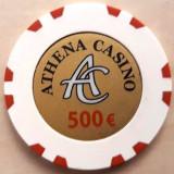 Jeton Athena Casino 500 Euro